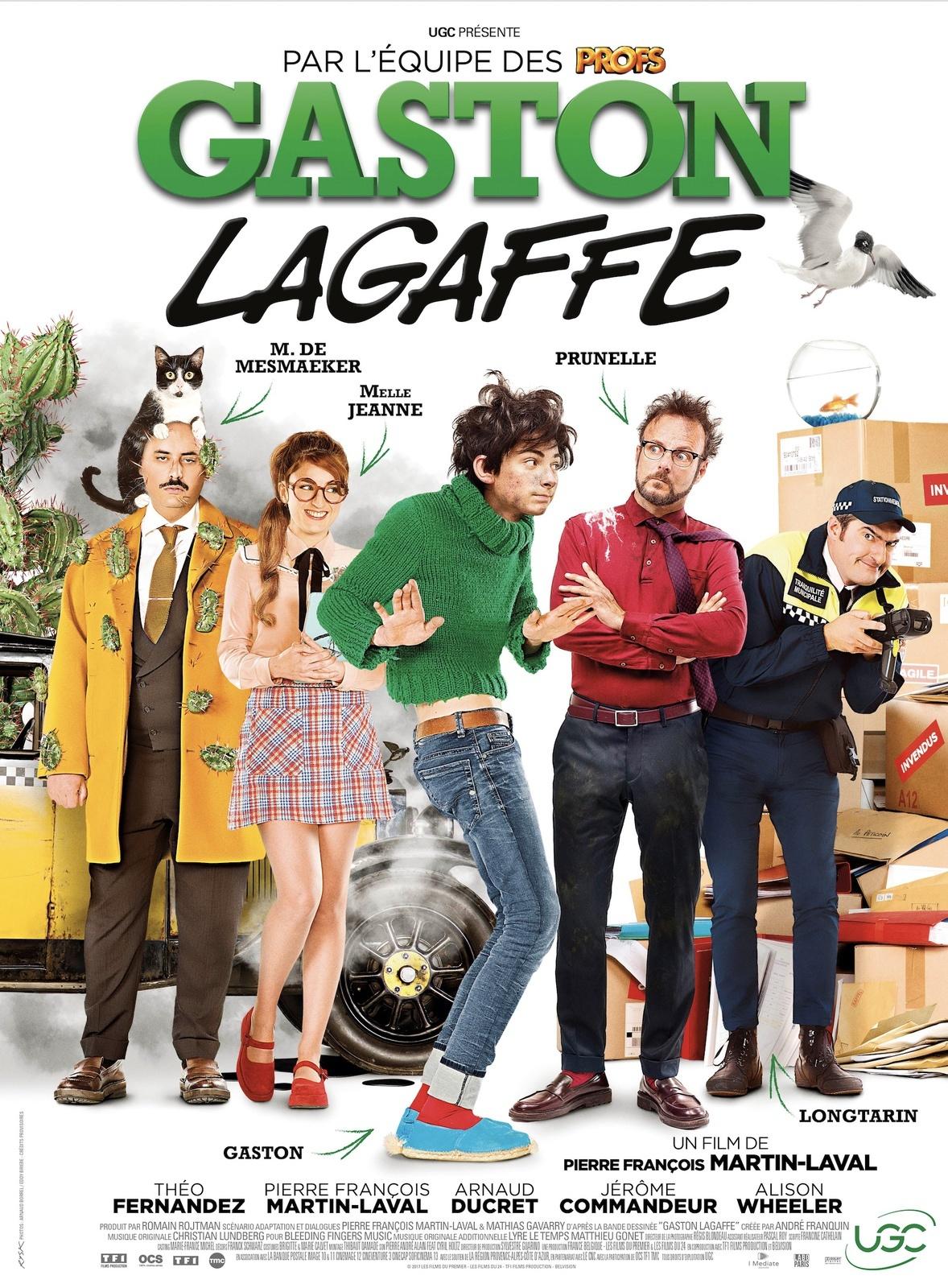 Gaston Lagaffe, le film, Dupuis, Pierre-François Martin-Laval