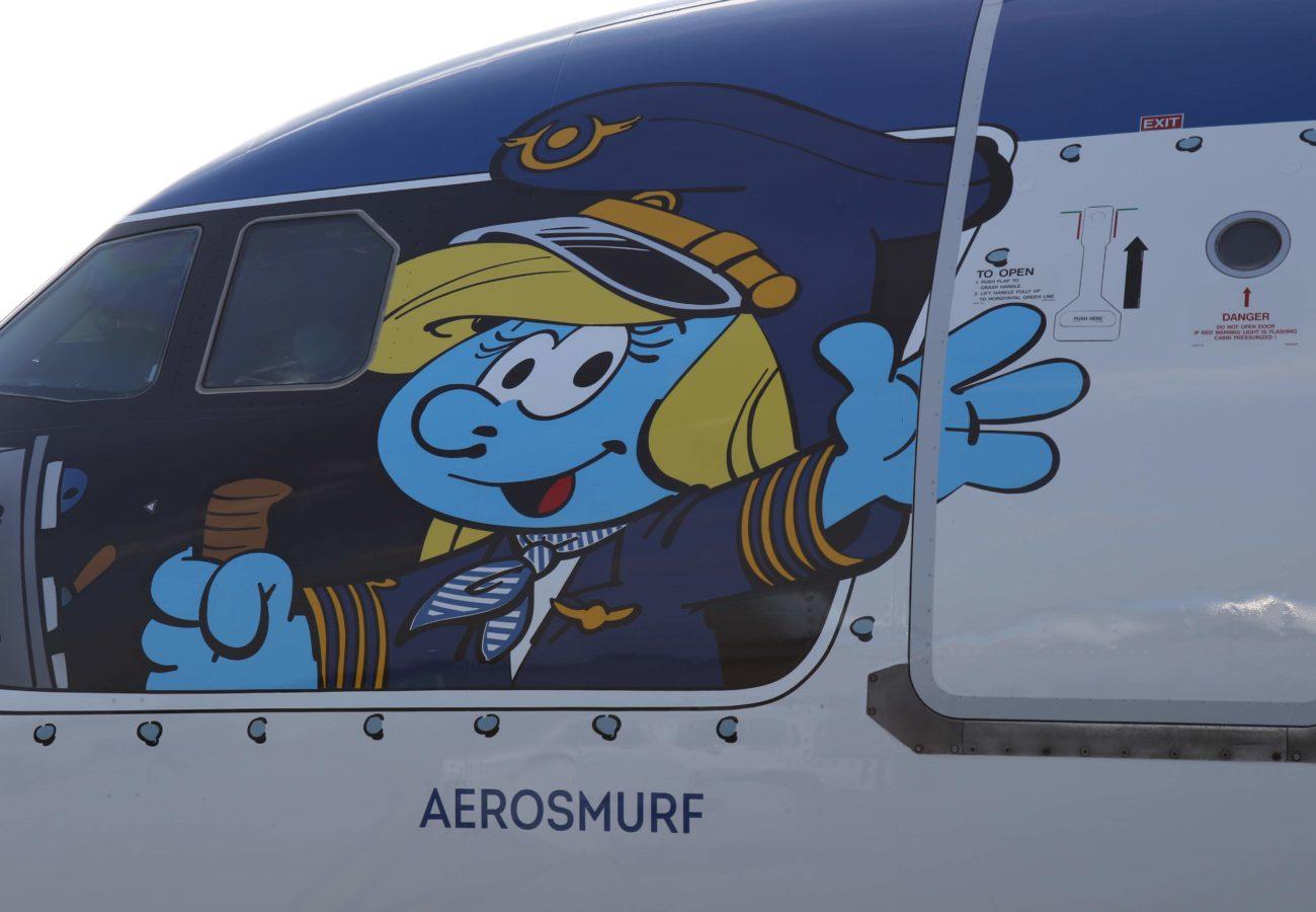 Aerosmurf, Brussels Airlines, Schtroumpf
