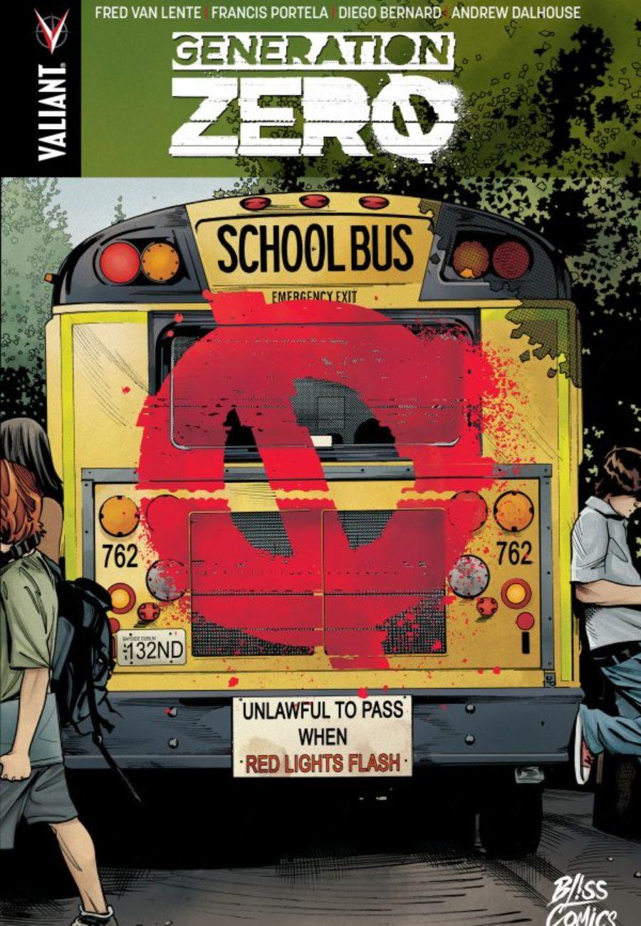 Génération Zéro, Bliss Comics, Portela Francis, Fred Van Lente, Valiant