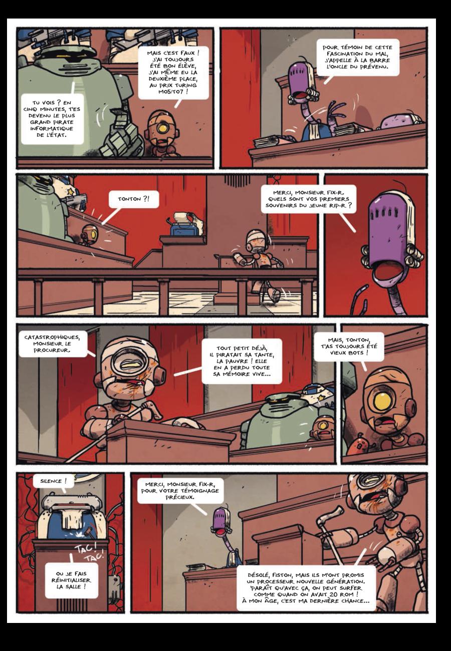 Bots #2, Steve Baker, Aurélien ducoudray, Ankama éditions