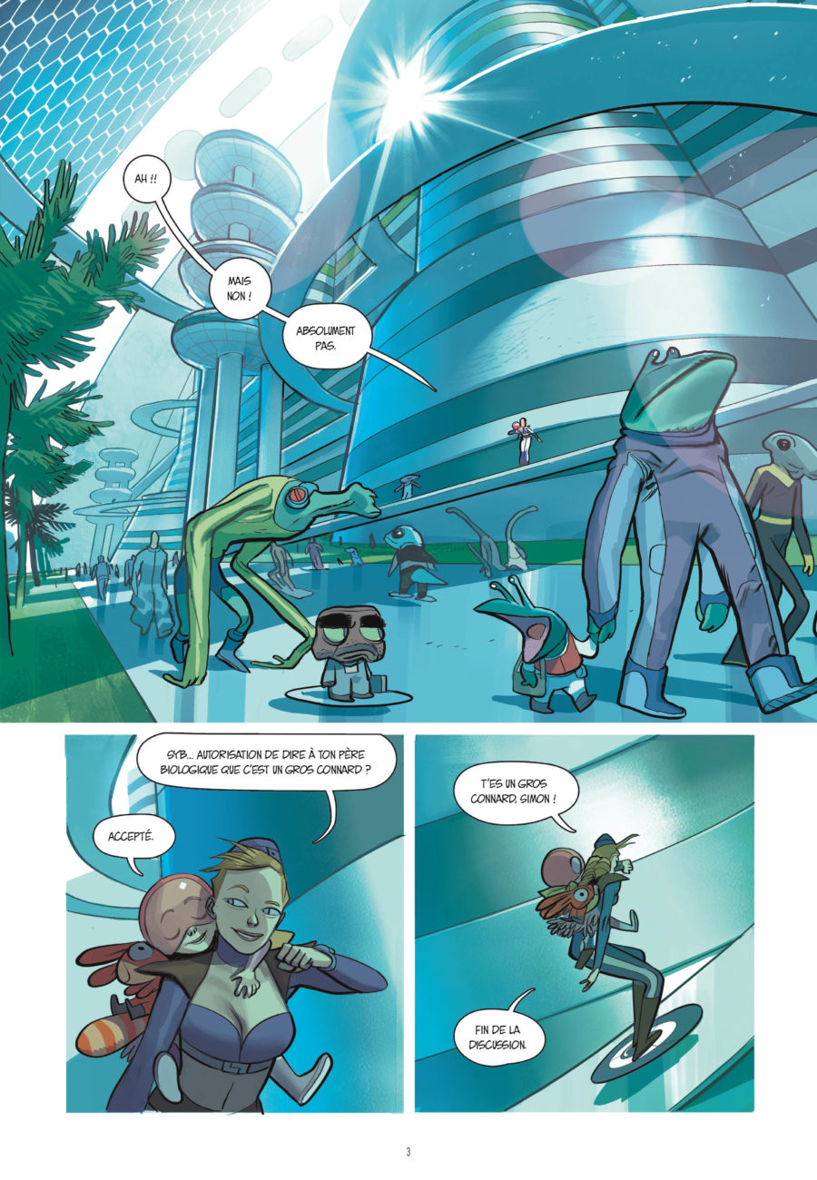 Infinity #5, La jour de l'apocalypse, Rue de Sèvres