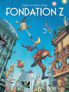 Le Spirou de #13, Fondation Z, Dupuis, Denis-Pierre Filippi, Fabrice Lebeault