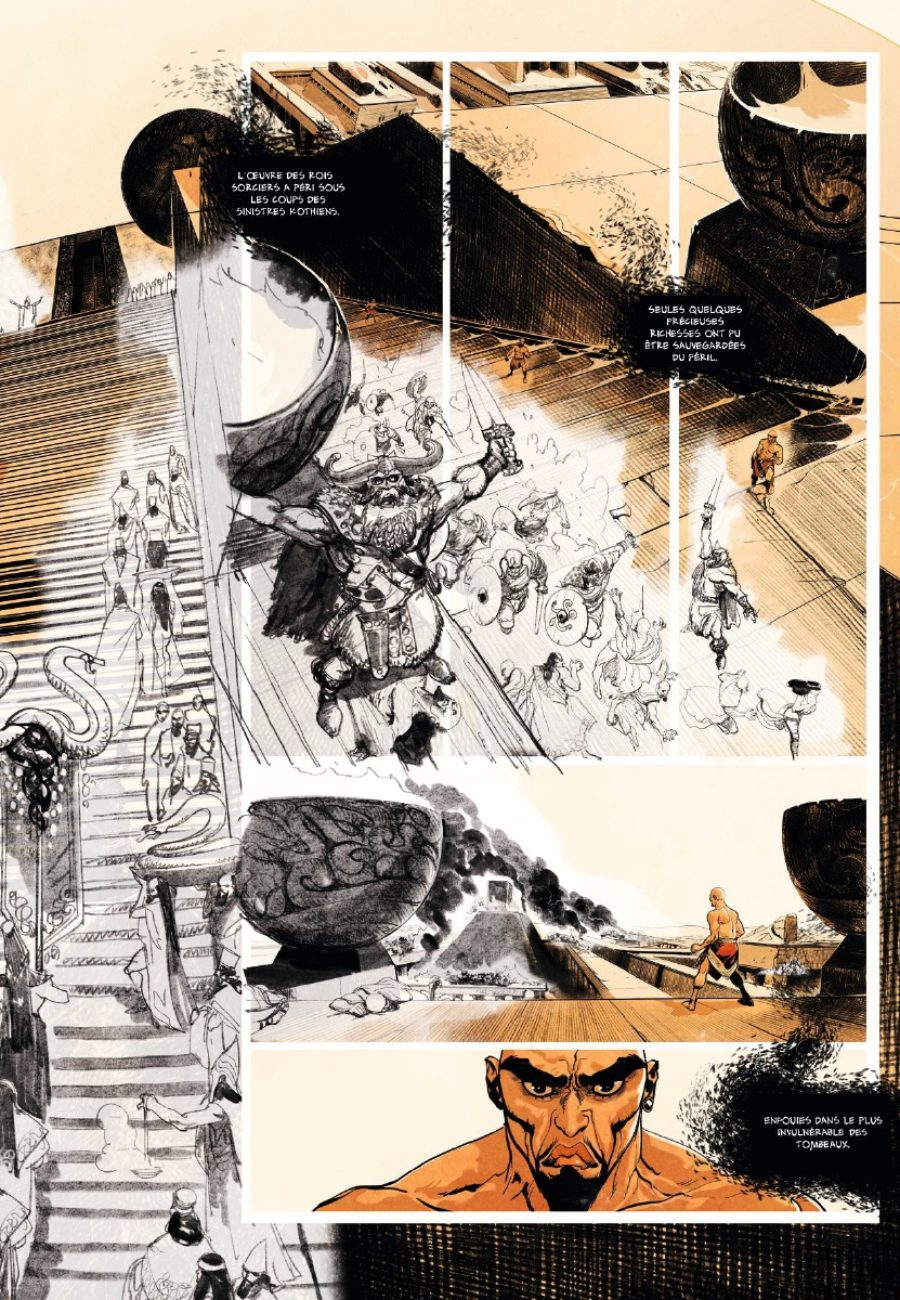 Conan le Cimmérien, Le Colosse noir, Glénat