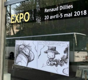 Expo vente - Renaud Dillies - Comic Art Factory