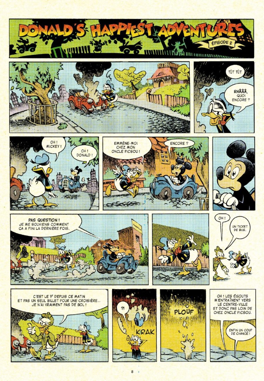 Donald's happiest adventures, Lewis Trondheim, Nicolas Kéramidas, Glenat