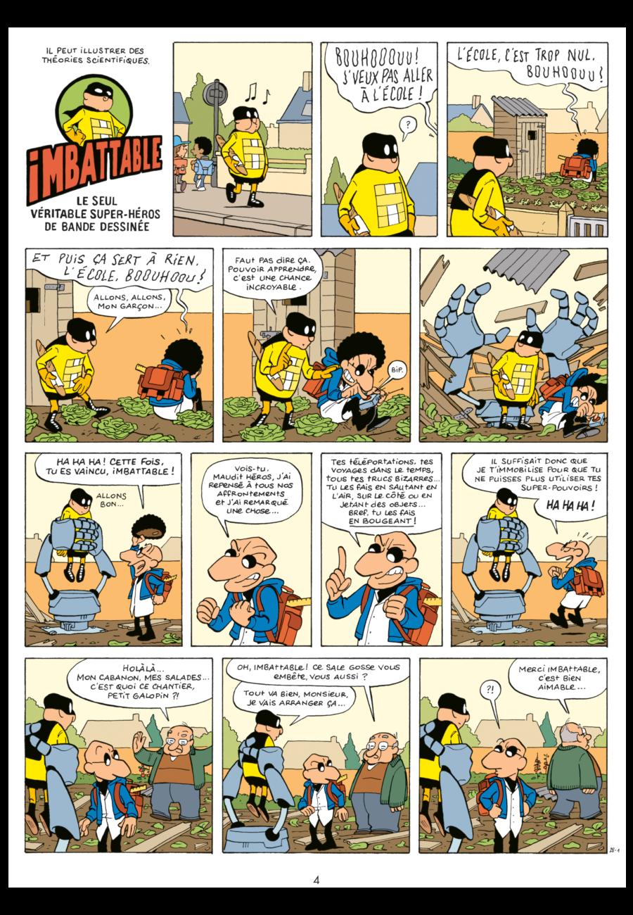 Imbattable 2, Super-Héros de proximité, Dupuis, Pascal Jousselin