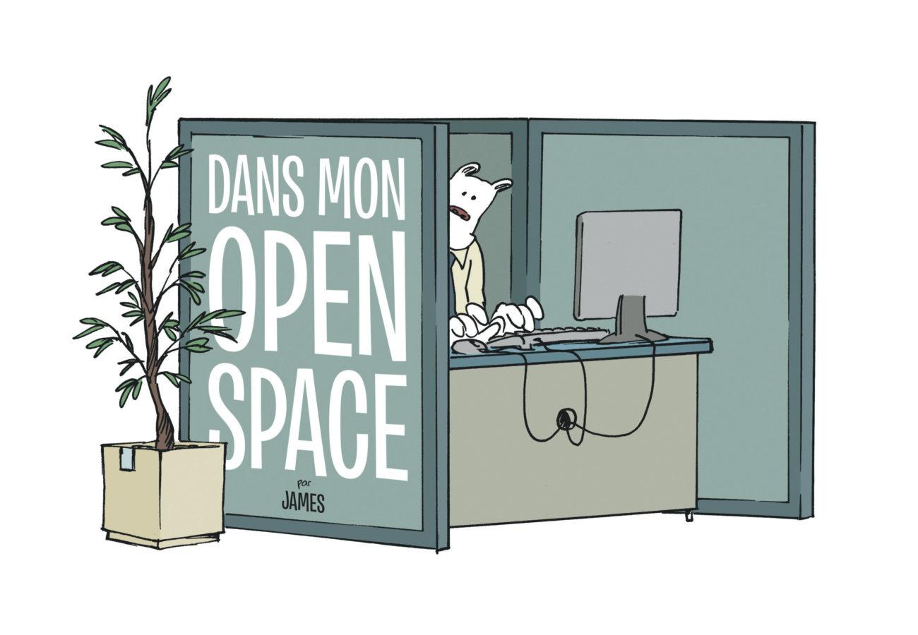 Dans mon open space, les inédits, James, Dargaud