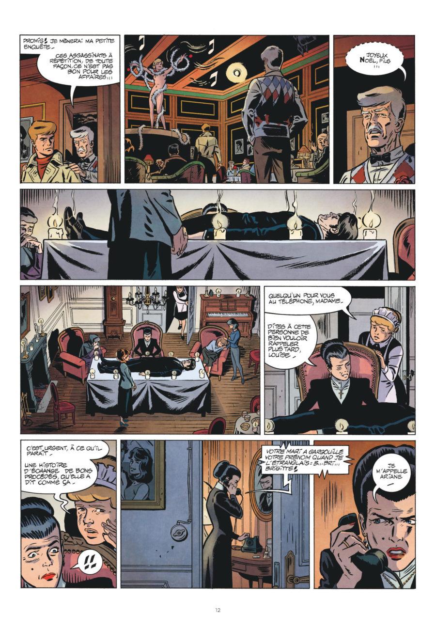 Les nouvelles enquêtes de Ric Hochet #3, comment réussir un assassinat, Le Lombard