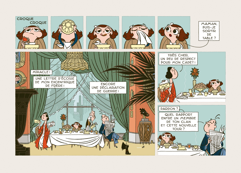 Dans la cqse, Fabrice Parme, Astrid Bromure 4