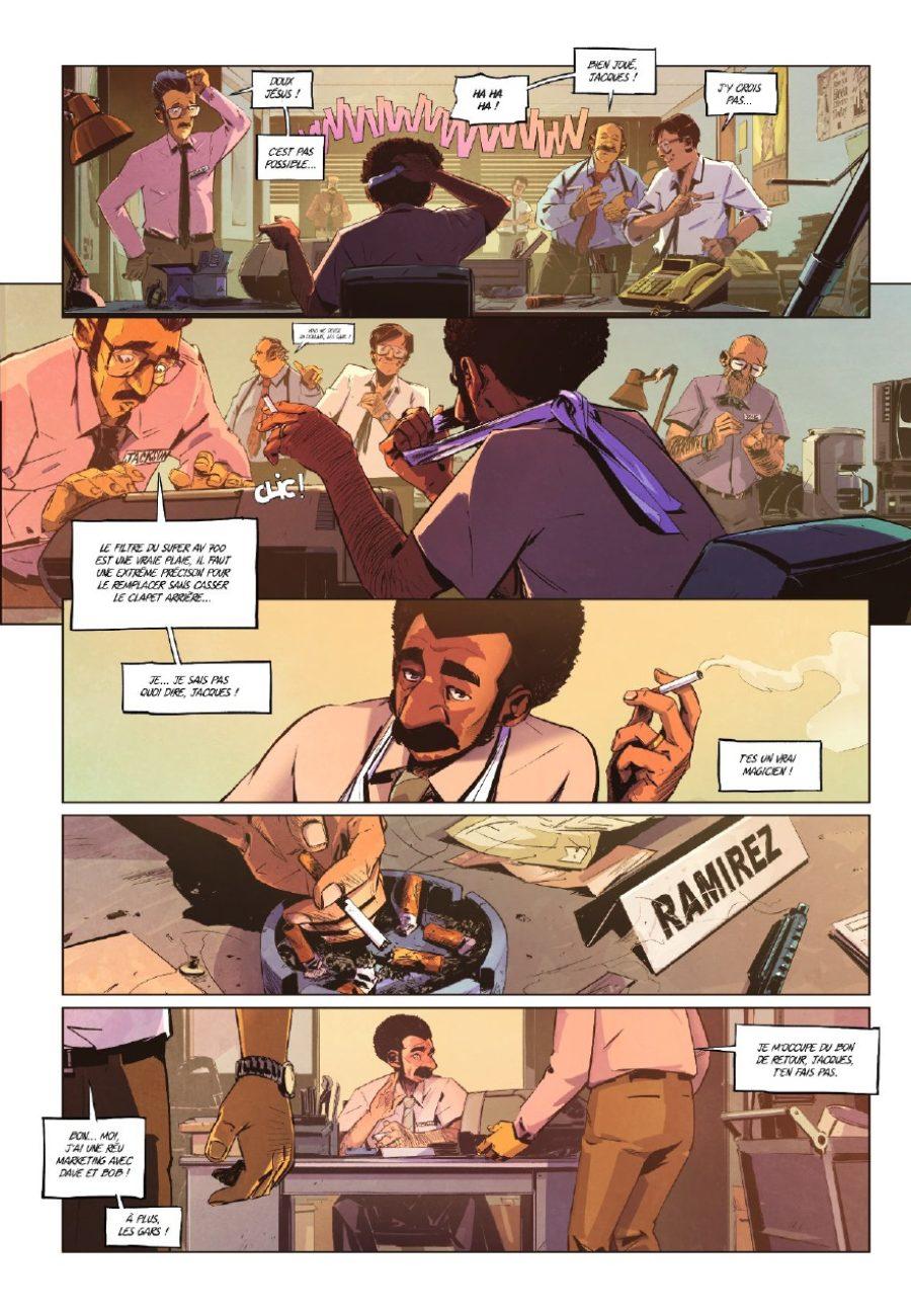Il faut flinguer Ramirez #1, Nicolas Pétrimaux, Glénat