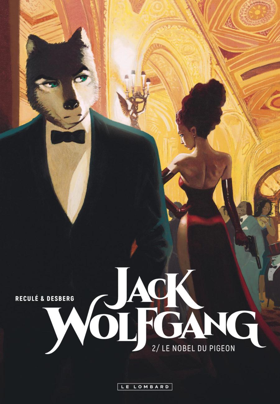 Jack Wolfgang #2, Le nobel du Pigeon, Le Lombard