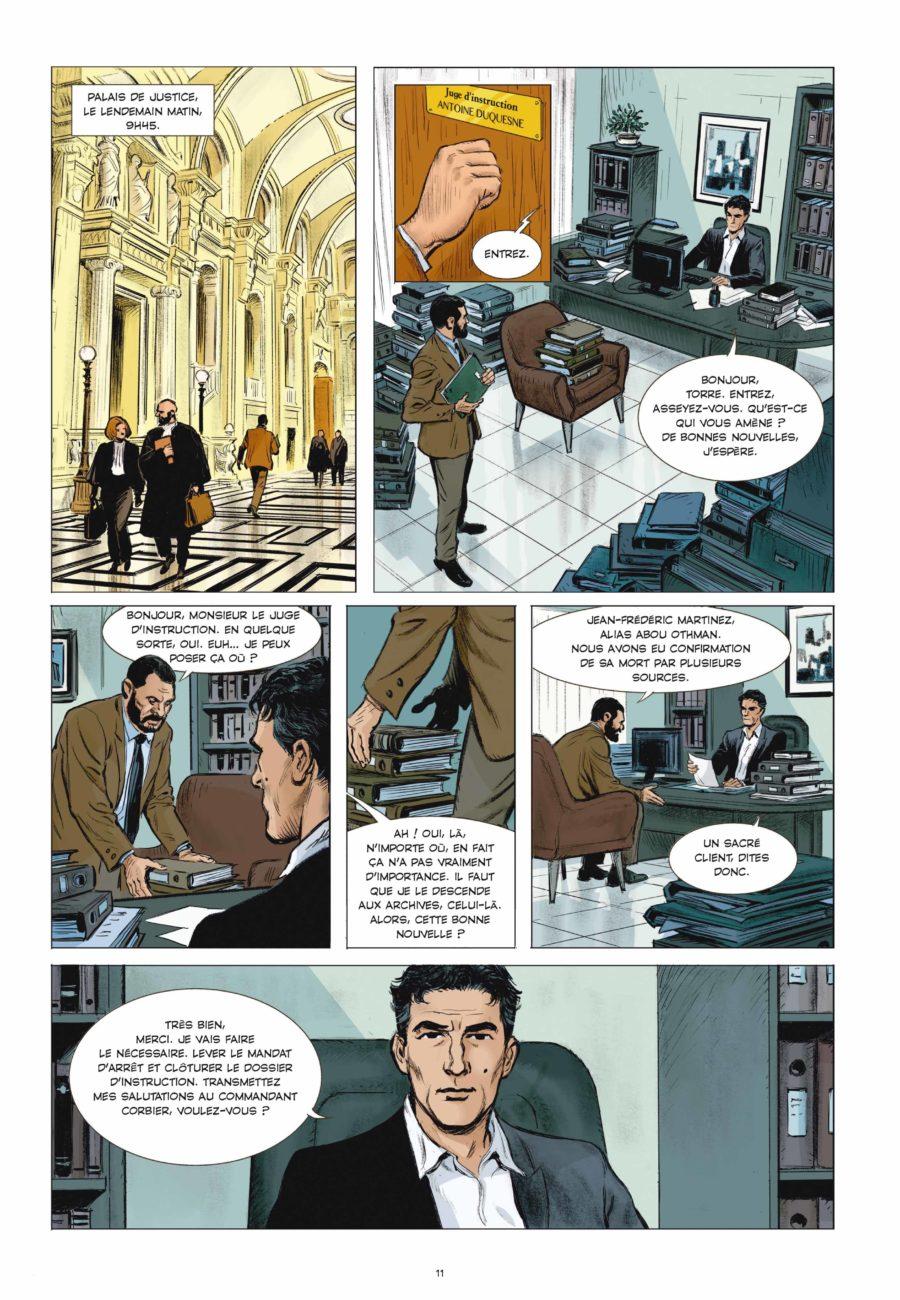 Compte à rebours #1, Rue de Sèvres, Matz, Marc Trévidic, Liotti
