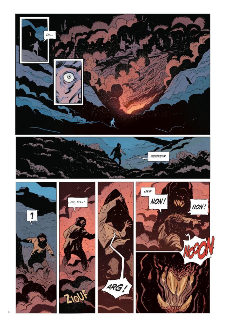 Le Lac de feu #1, EP éditions