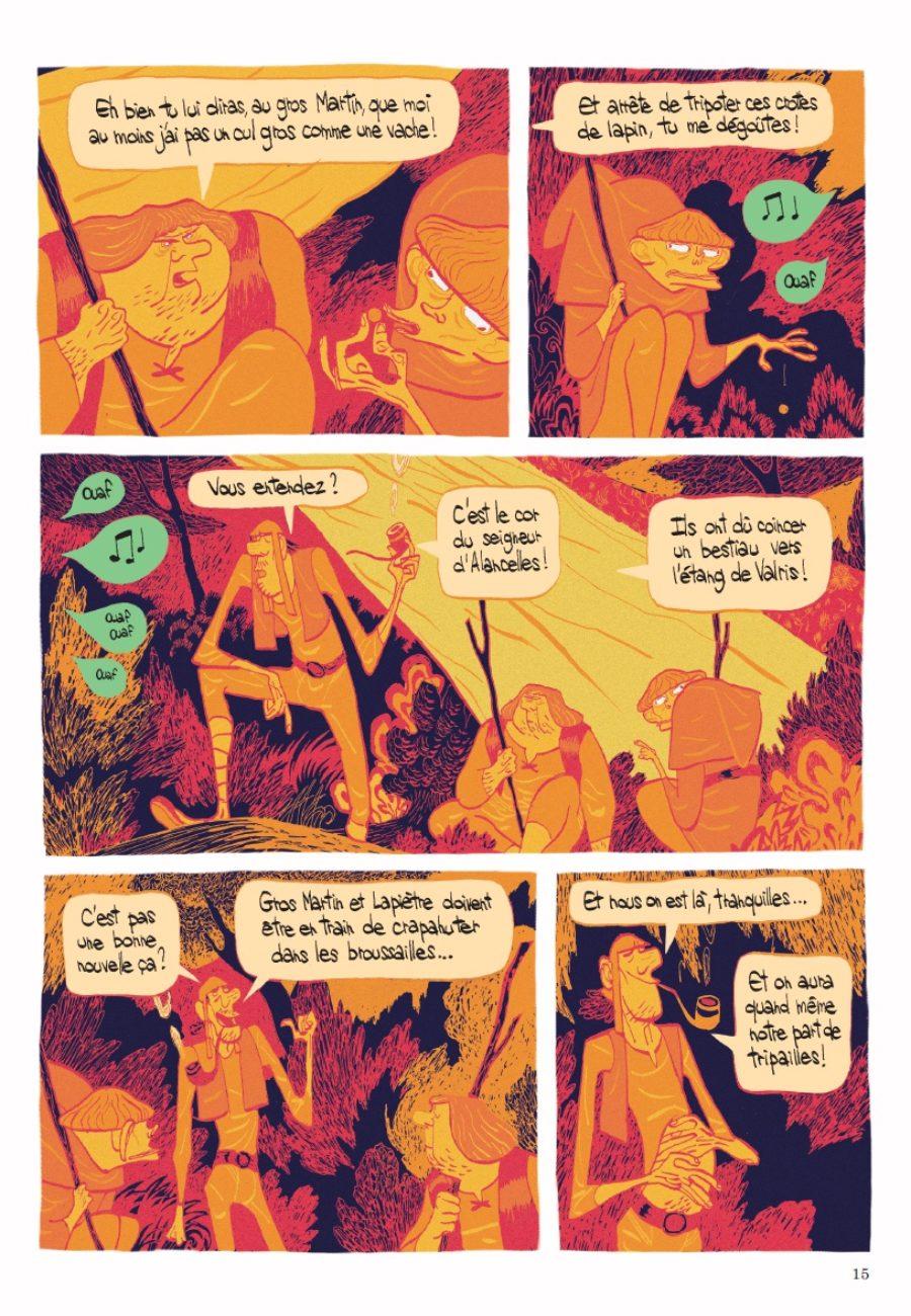 L'âge d'or, Cyril Pedrosa, roxanne Moreil, Dupuis