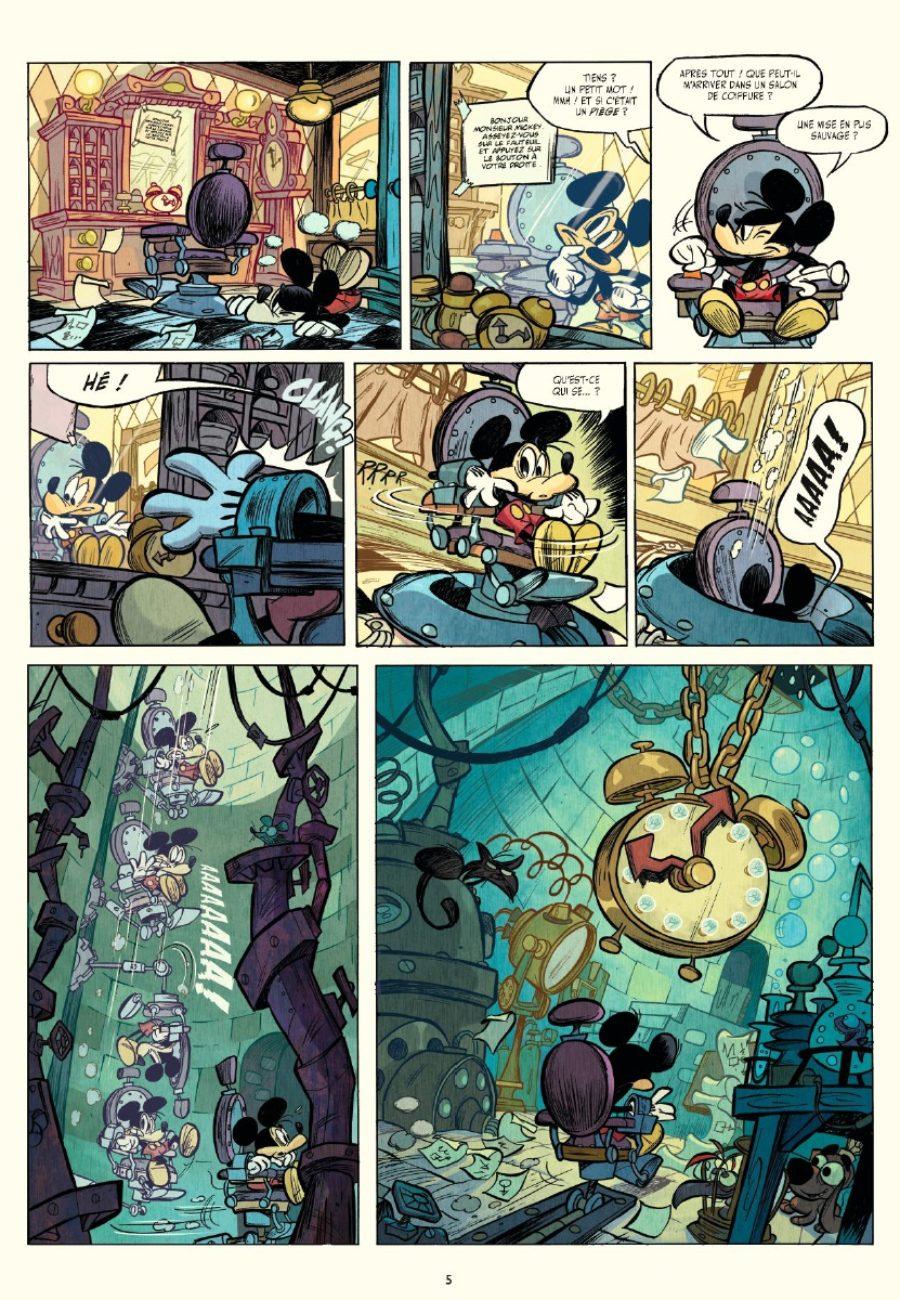 Mickey à travers les siècles, Glénat