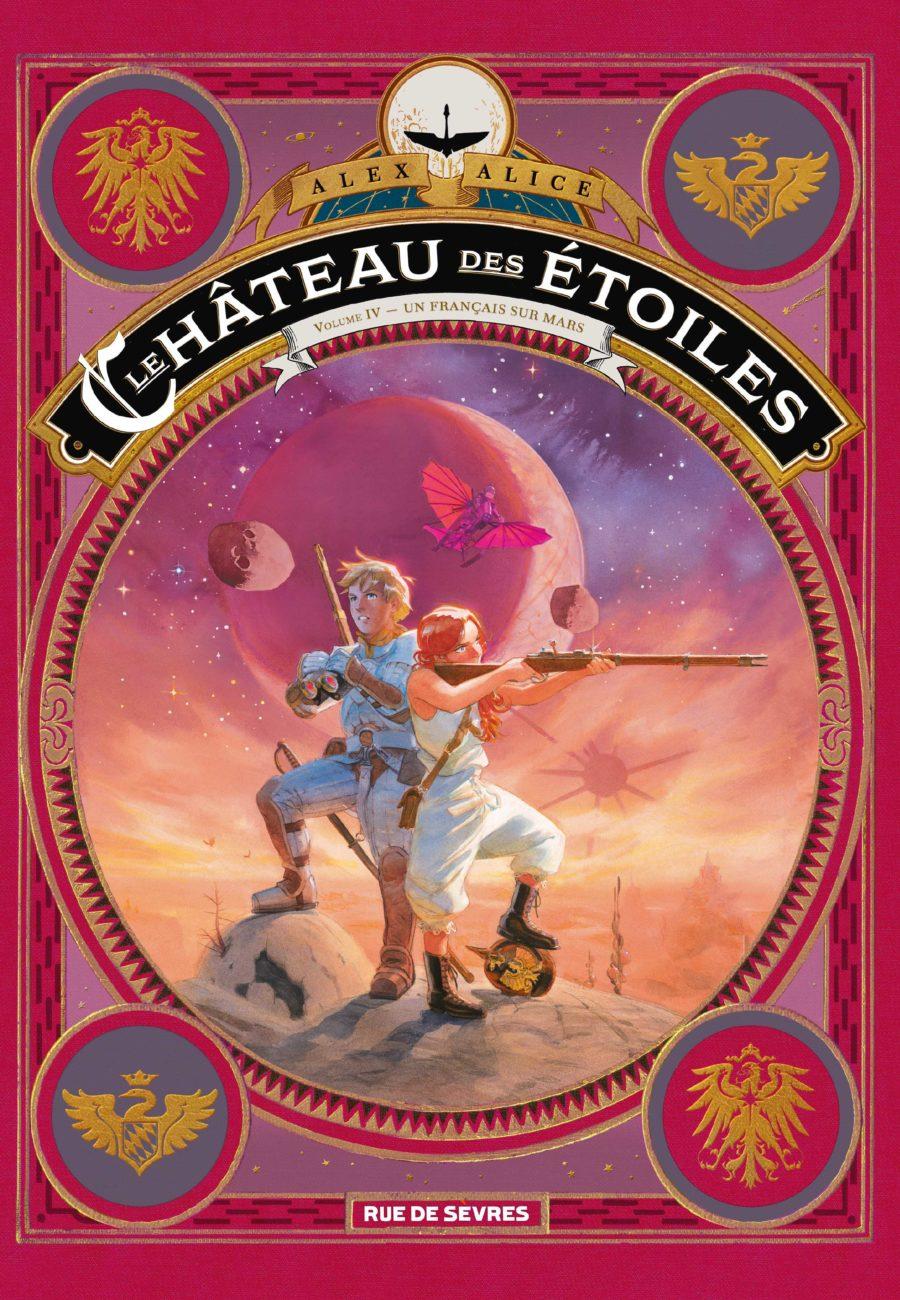 Le château des étoiles #4, Un français sur Mars, Rue de Sèvres