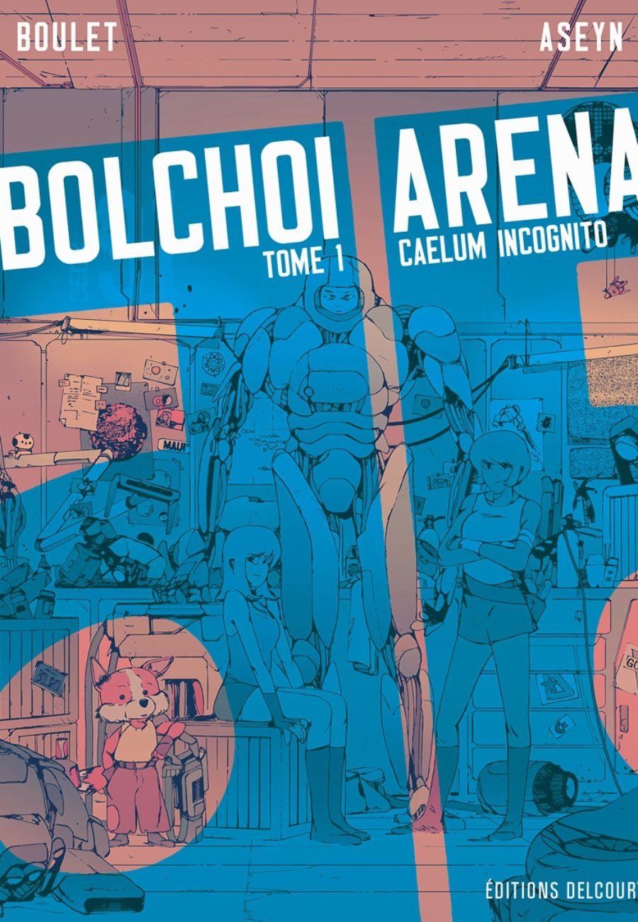 Bolchoi Arena #1, Caelum incognito, Boulet, Aseym