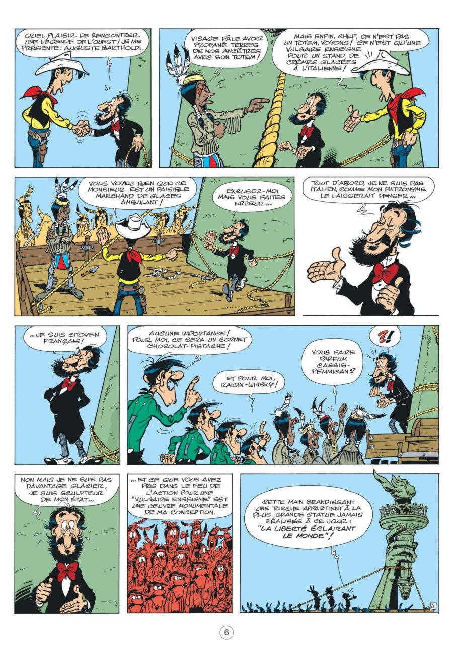 Les nouvelles aventures de Lucky Luke #8, Un cowboy à Paris, Dargaud