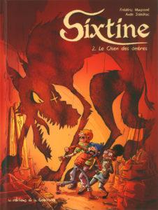 Sixtine #2, Le chien des ombres, éditions La Gouttiere