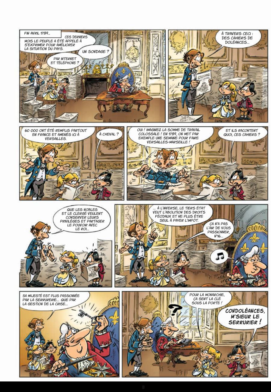 Drôle d'histoire #1, La révolution française, Jungle