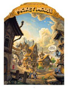 Horrifikland, Alexis Nesme, Lewis Trondheim, Glénat, Mickey, Chronique BD, Disney by Glénat,