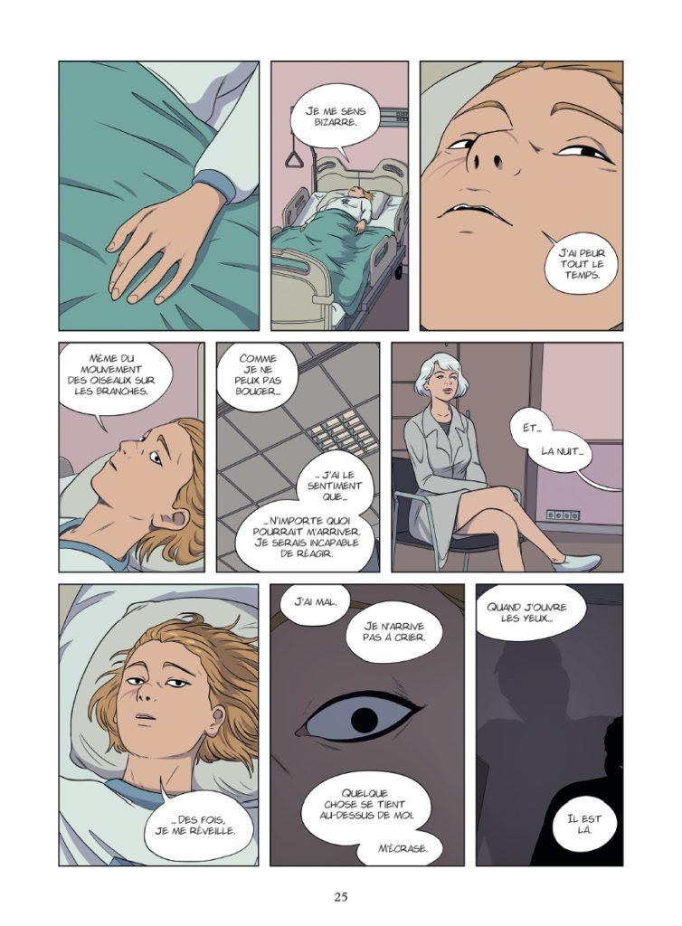 Le patient, Timothé le Boucher, Glénat, preview