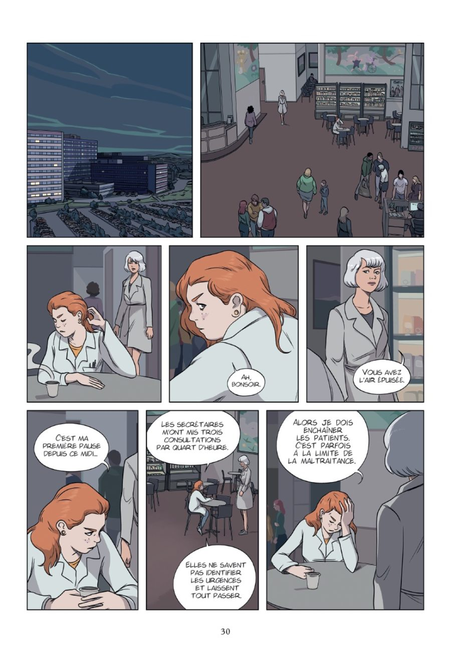 Le patient, Timothé le Boucher, Glénat, preview