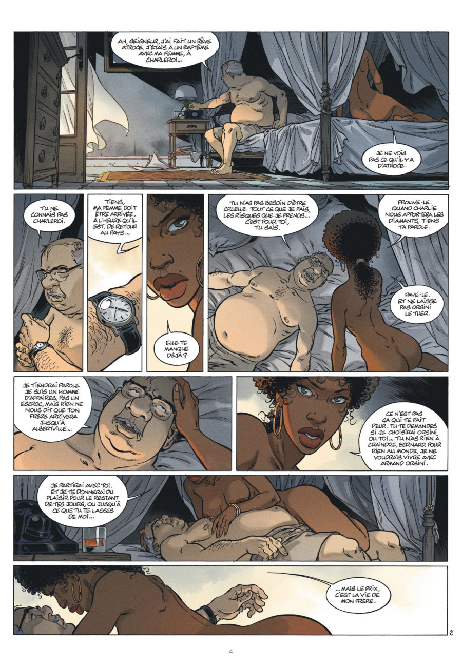 Katanga #3, Dispersion, Dargaud, Fabien Nury, Sylvain Vallée
