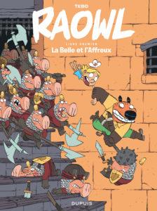 raowl, La belle et l'affreux, Tebo, Dupuis