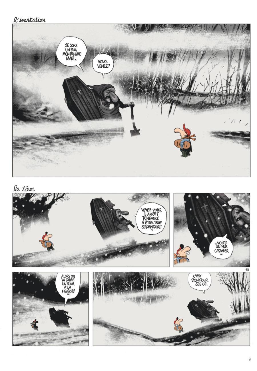 Le Retour à la Terre #6, Métamorphoses, Dargaud