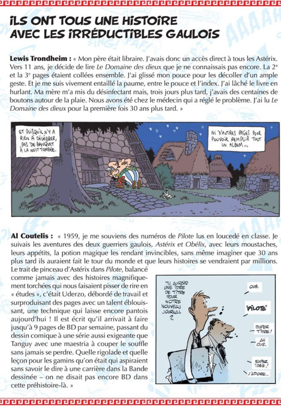 A l'occasion des 60 ans de la création d'Astérix, les éditions Albert René publieront le 28 août 2019, un album hommage, Générations Asterix.