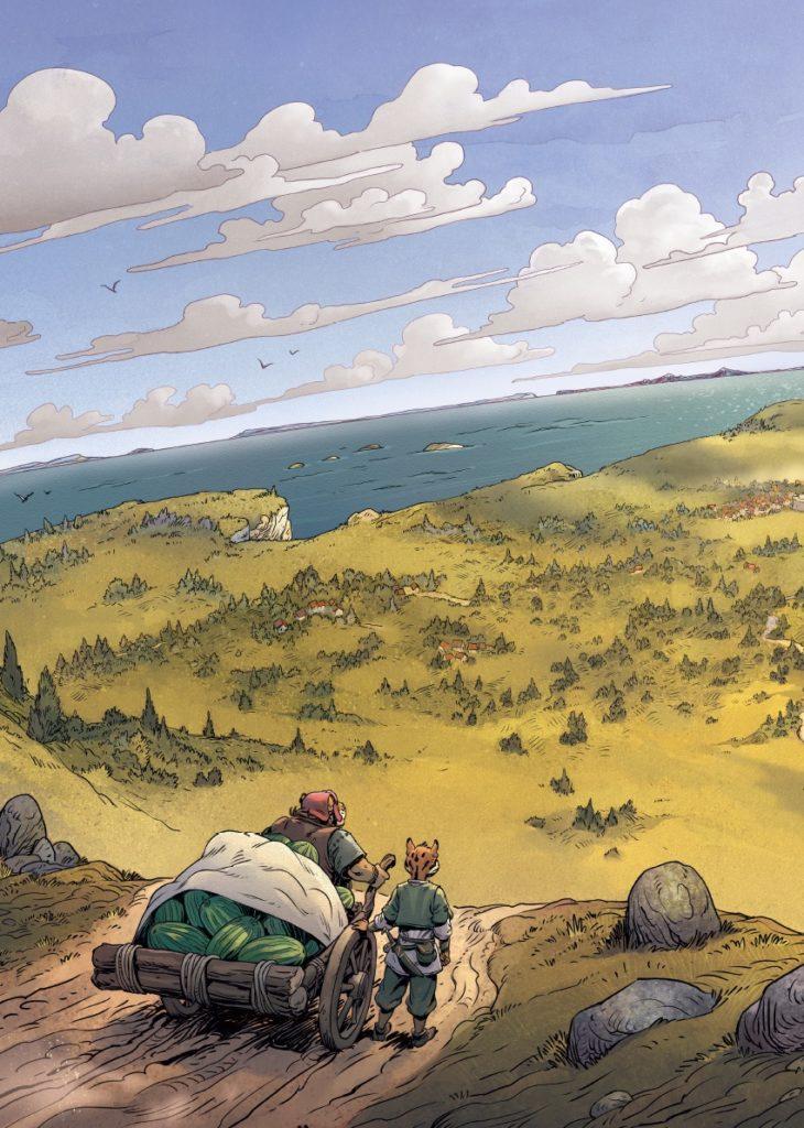 Les 5 terres, De toutes mes forces, Lewelyn, Lereculey, Delcourt