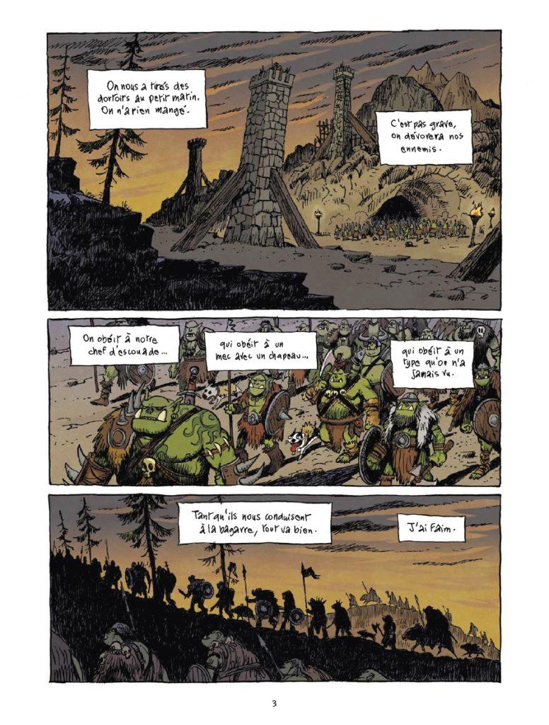 Donjon Antipodes 10000, L'armée du crâne, Grégory Panaccione, Sfar, Trondheim, Delcourt