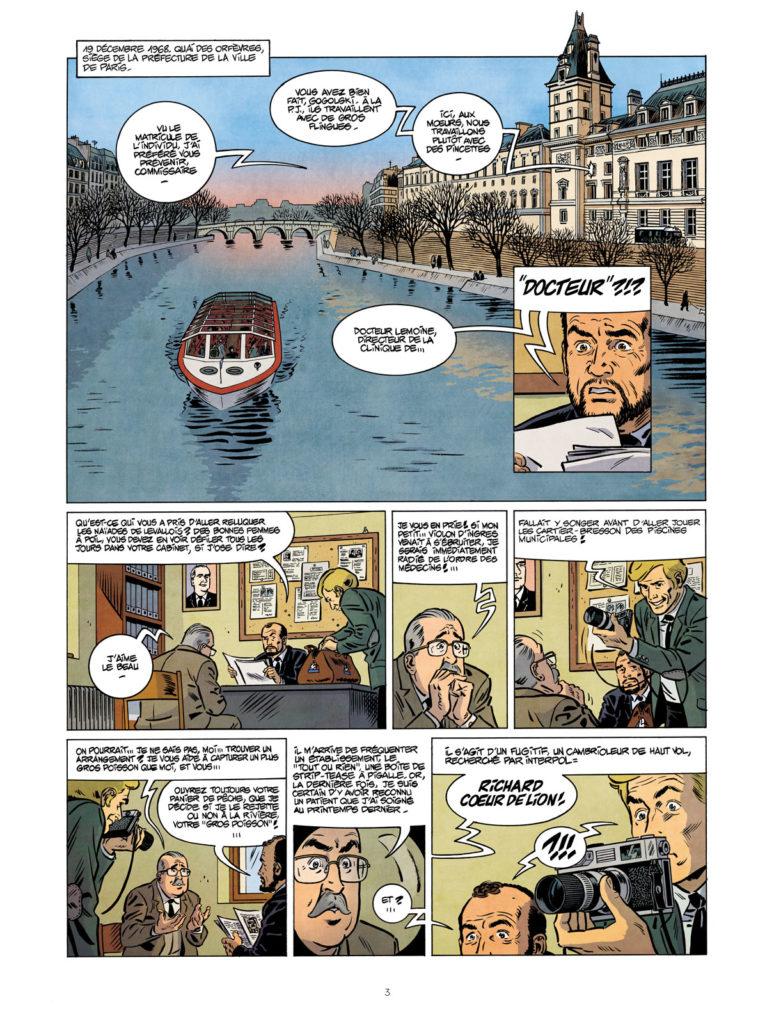Les nouvelles enquêtes de Ric Rochet_Tombé pour la France_Le Lombard