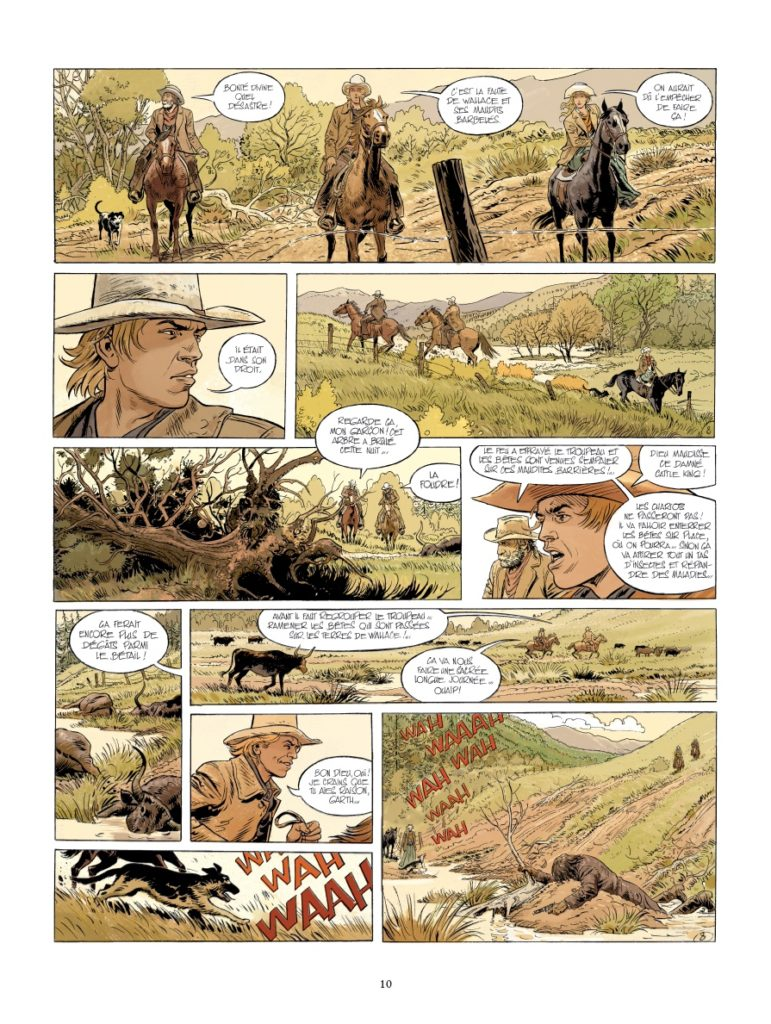Gunfighter, Christophe Bec, Michel Rouge, Glénat, Chronique BD