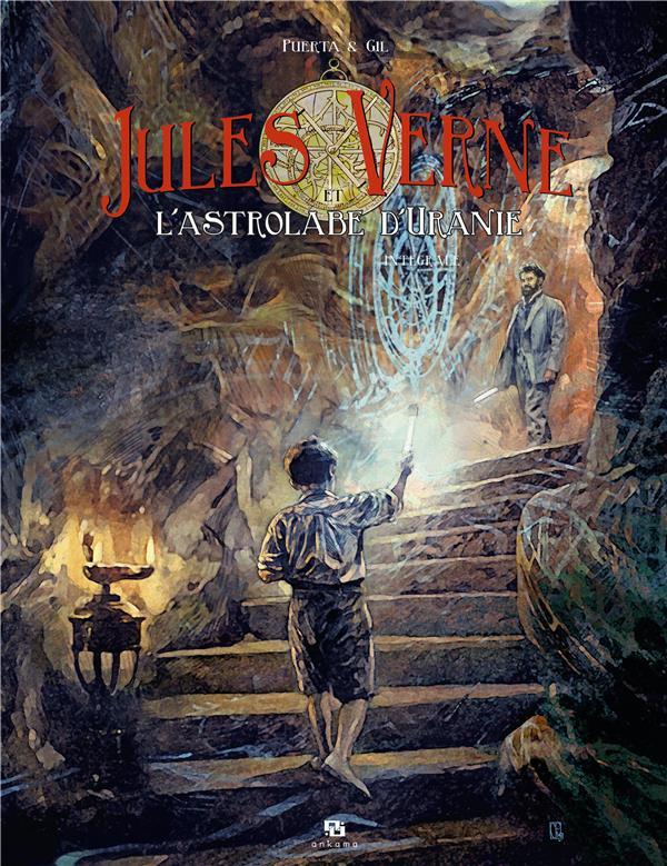 Jules Verne et l'astrolabe d'Uranie, Ankama, Gil, Puerta