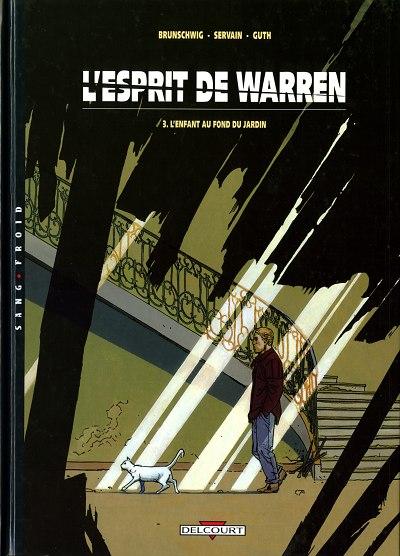 L'esprit de Warren, Luc Brunschwig, Servain, Delcourt