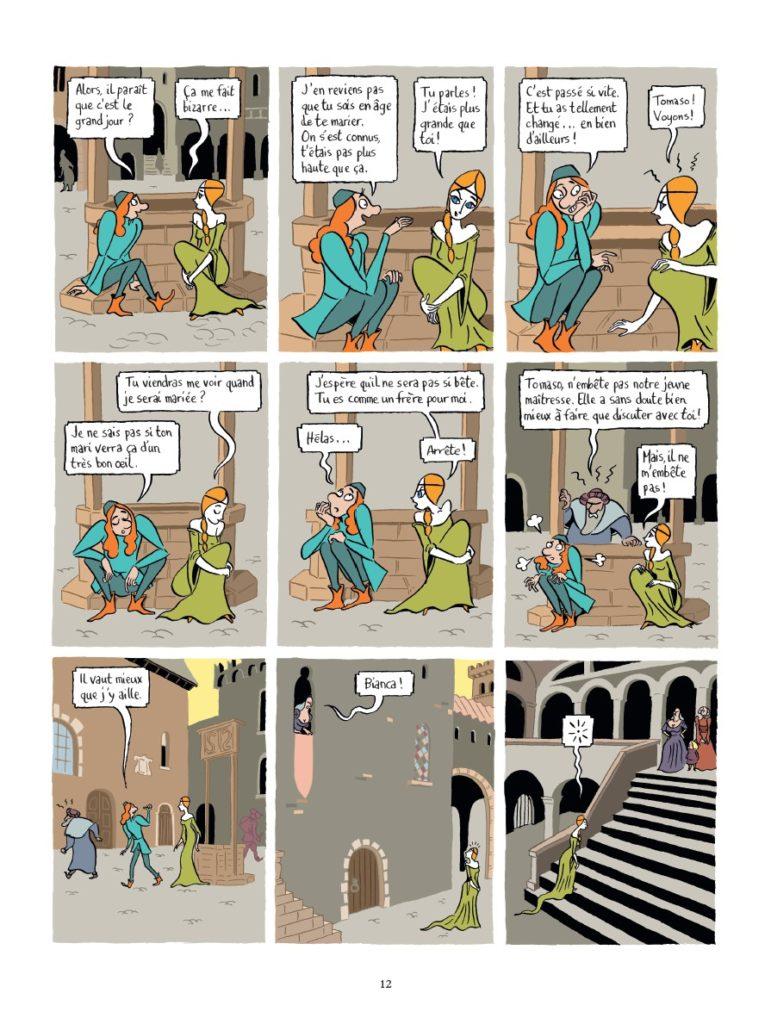 Peau d'homme, Hubert, ZanZim, Glénat