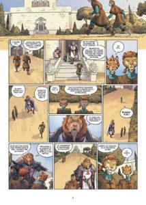 Les 5 terres, L'amour d'un inbécile, Delcourt