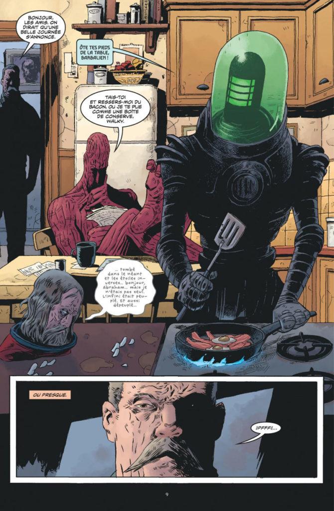 Black Hammer #1, Origines Secrètes, Jeff Lemire, Dean Ormston, Urban Comics