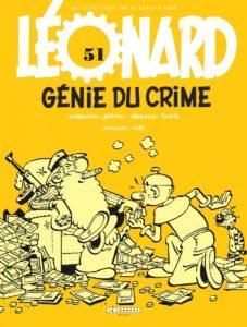 Leonard #51, Génie du Crime, Zidrou, Turk, Le Lombard