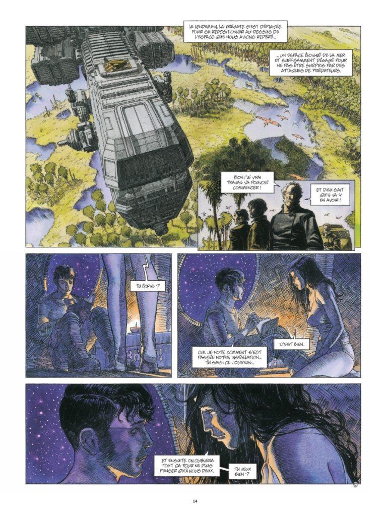Terre #1, le vieux monde, Daniel Maghen