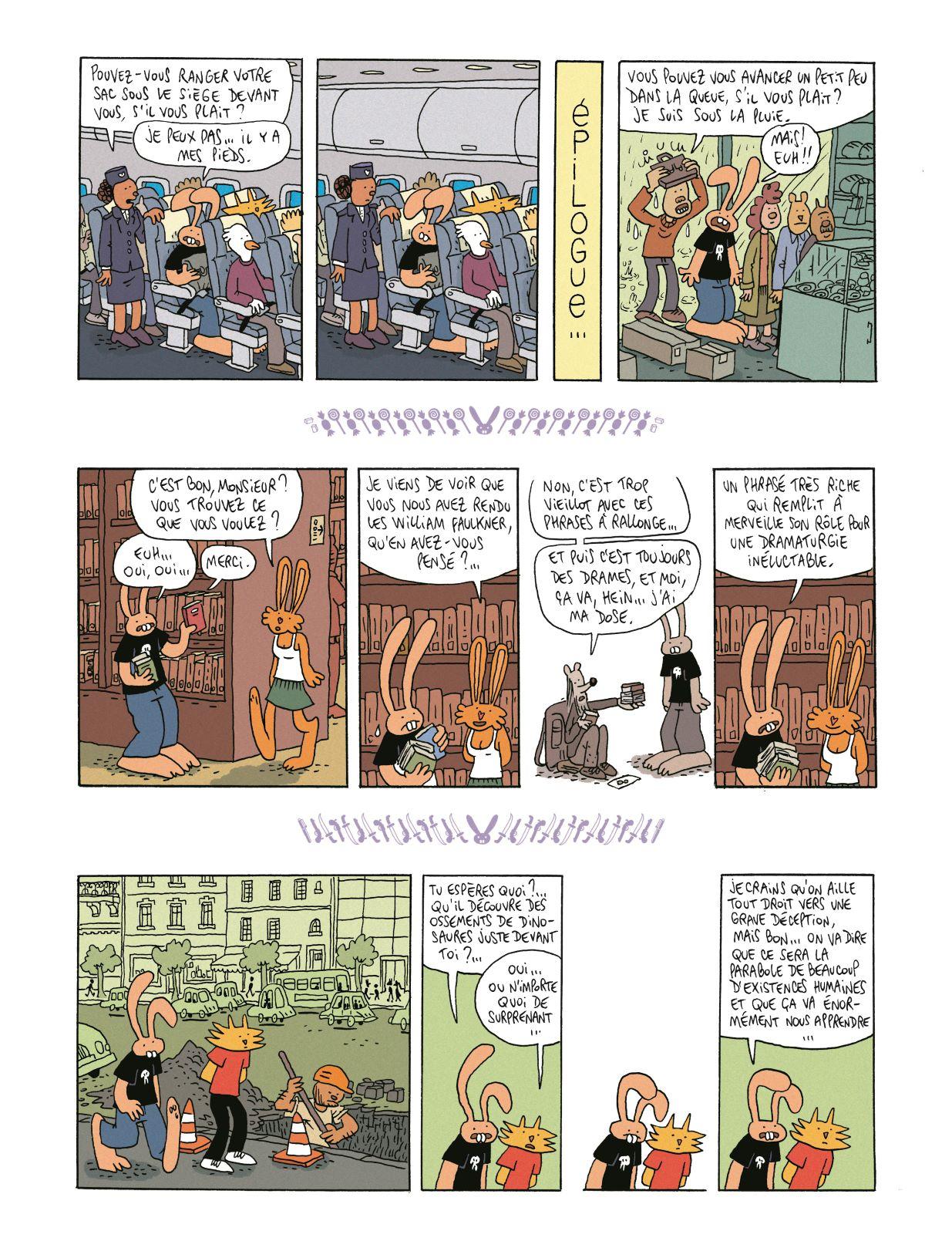 Les nouvelles aventures de Lapinot #4, Un peu d'amour, L'Association
