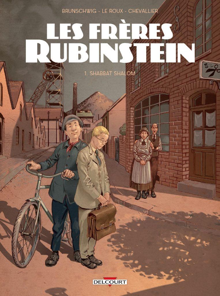 Les frères Rubinstein #1, Shabbat Shalom, Delcourt