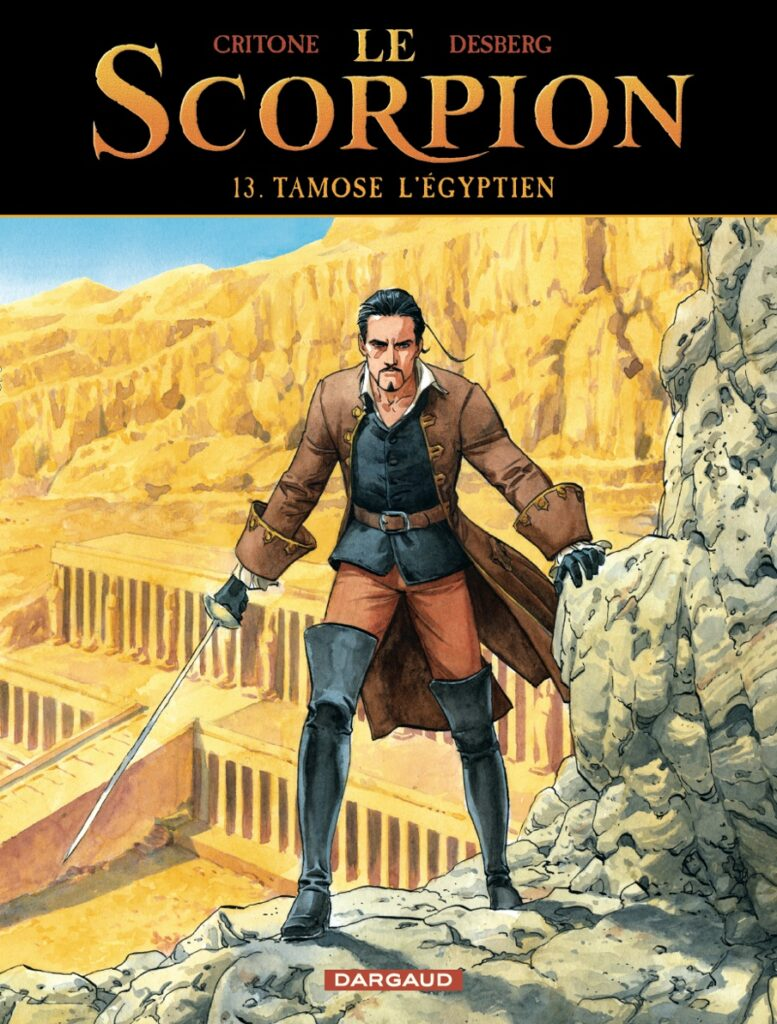 Le scorpion, Tamose l'Egyptien, Dargaud