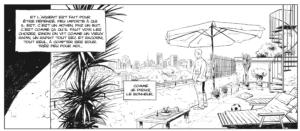 Dans la case, Philippe Xavier, Tango #5, Le Lombard