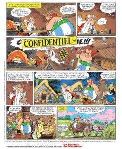 Astérix et Obélix reprennent la route, actualité BD