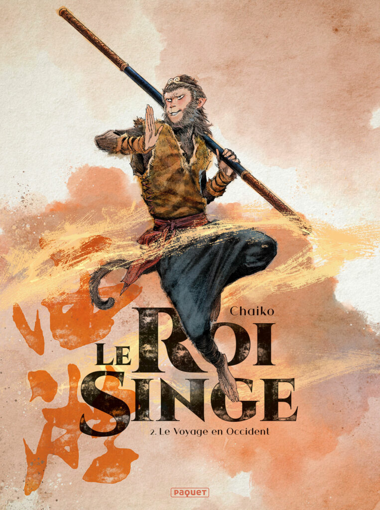 Le roi singe, le voyage en occident, Editions Paquet