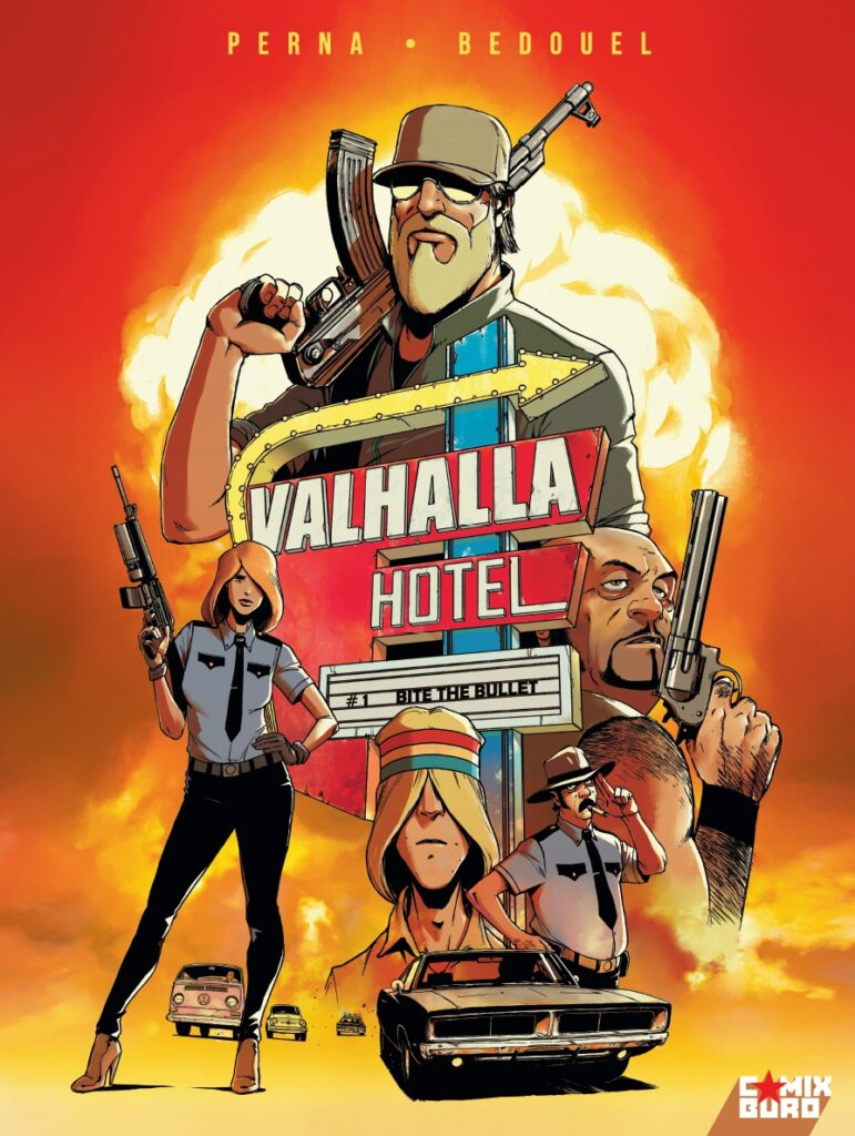 Walhalla Hotel #A, Comix Buro, Pat Perna, Bedouel