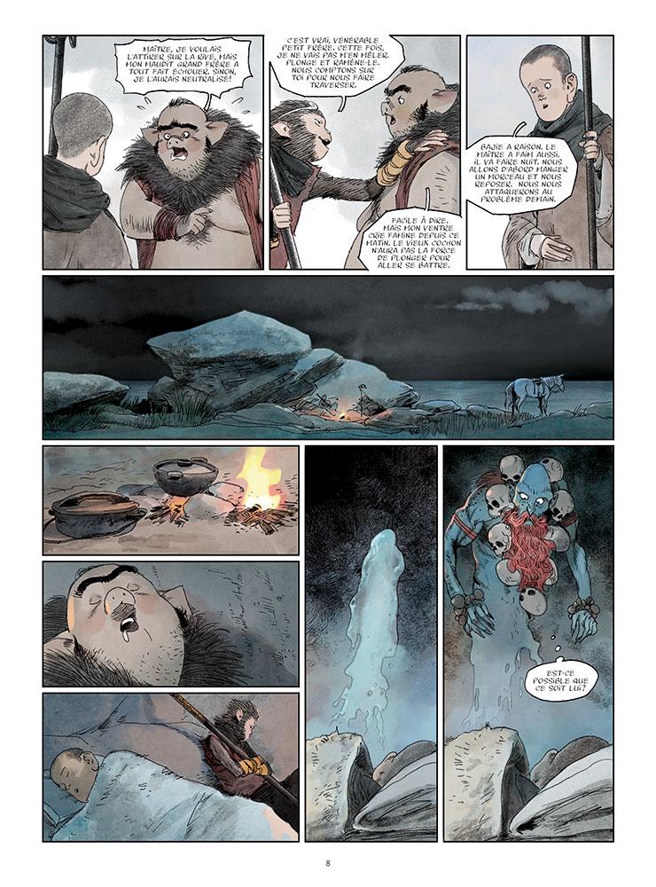 Le roi singe #3, la disgrace de Wu Kong, Paquet